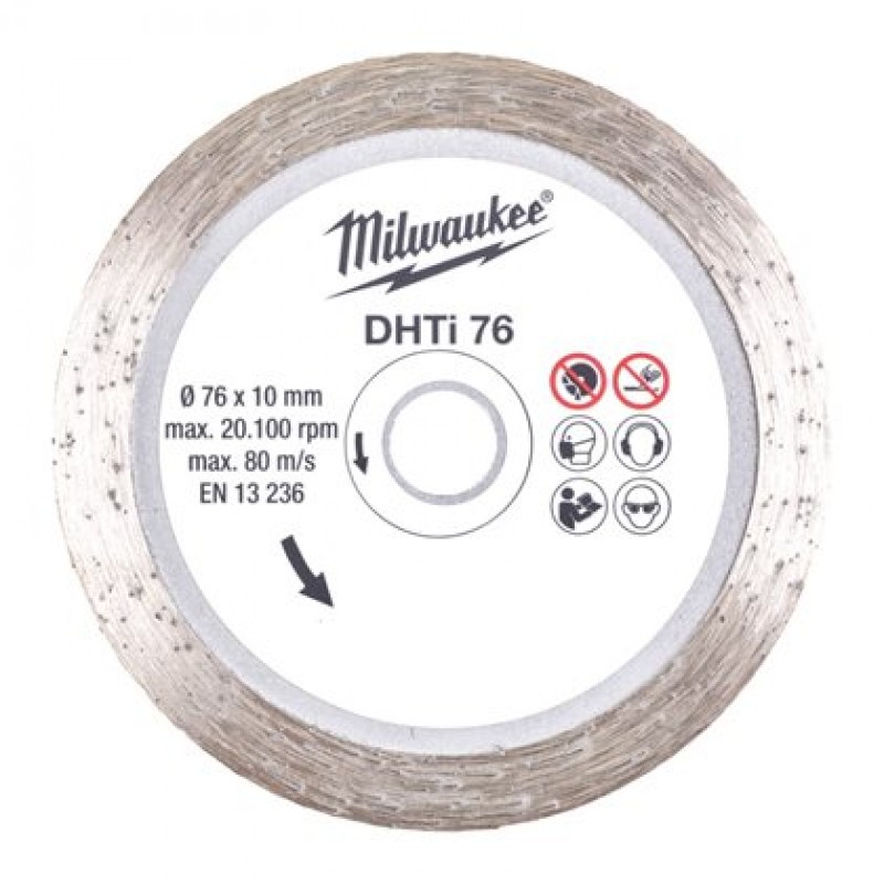 Диск алмазный для M12 FCOT  DHTi 76X10 MILWAUKEE 4932464715