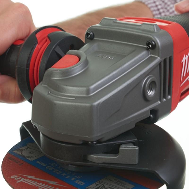 Углошлифовальная машина MILWAUKEE 125 мм M18 FUEL CAG125XPD-0X 4933451441