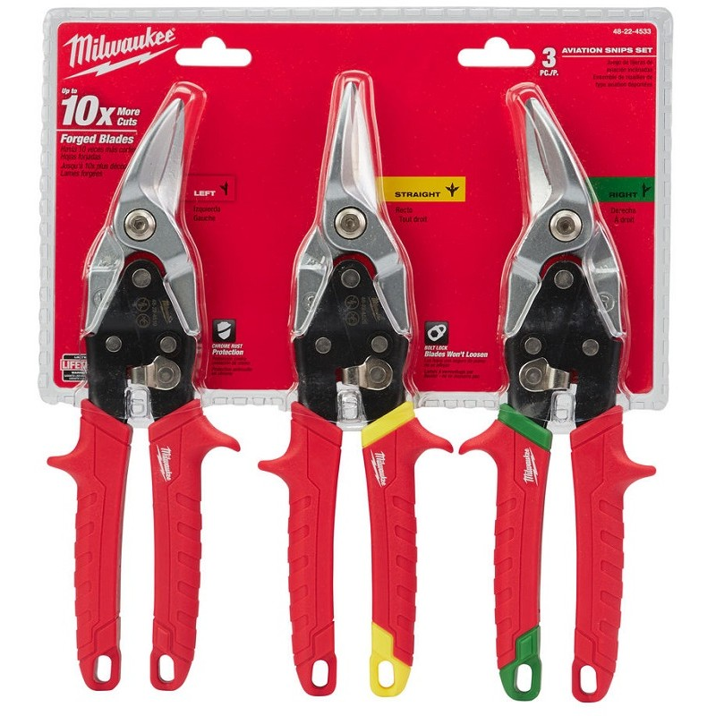 Набор ножниц по металлу MILWAUKEE 48224533