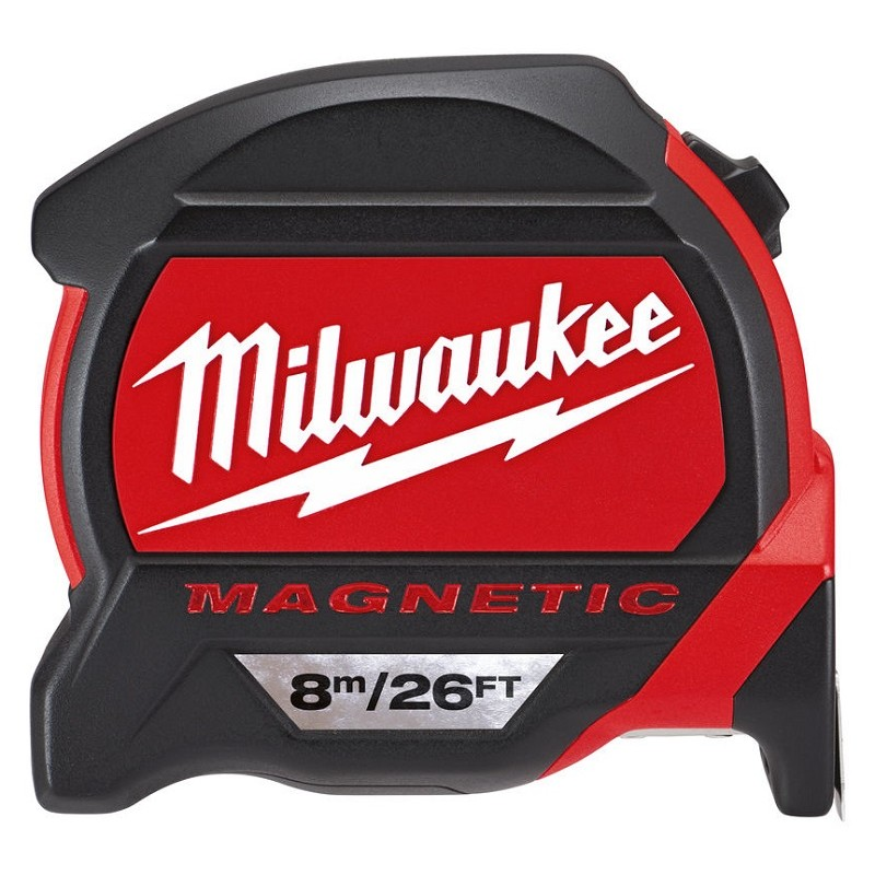 Рулетка MILWAUKEE Magnetic Tape Premium 8 м/26