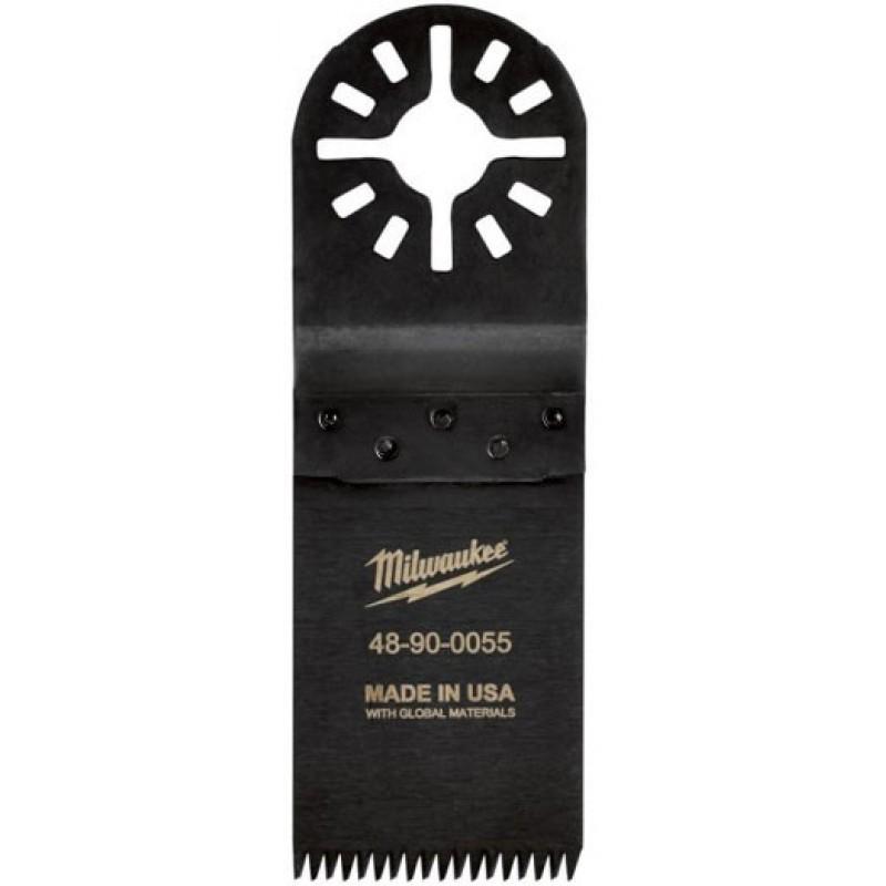 Полотно для мультитул 30мм для быстрого реза мягкой и твердой древесины MILWAUKEE 48900055