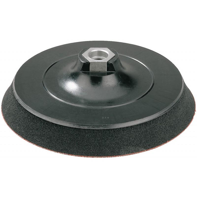 Полировальный диск-подошва Ø150 мм крепление Велькро MILWAUKEE 4932373161