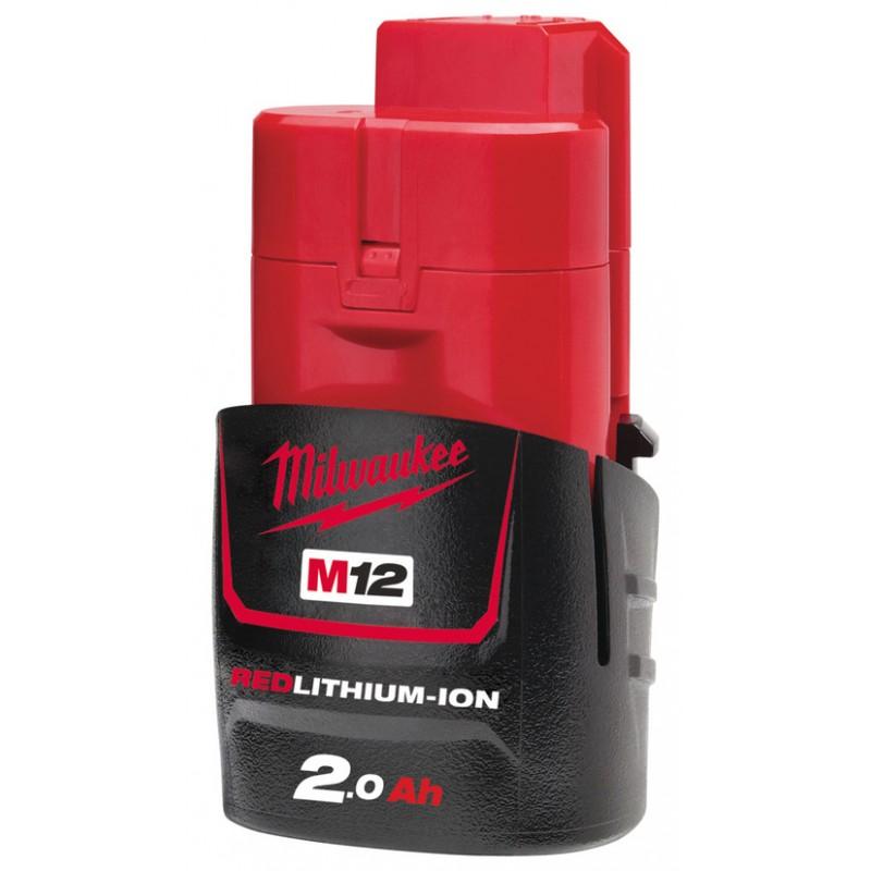 Аккумулятор MILWAUKEE M12 B2 2 Ач 4932430064