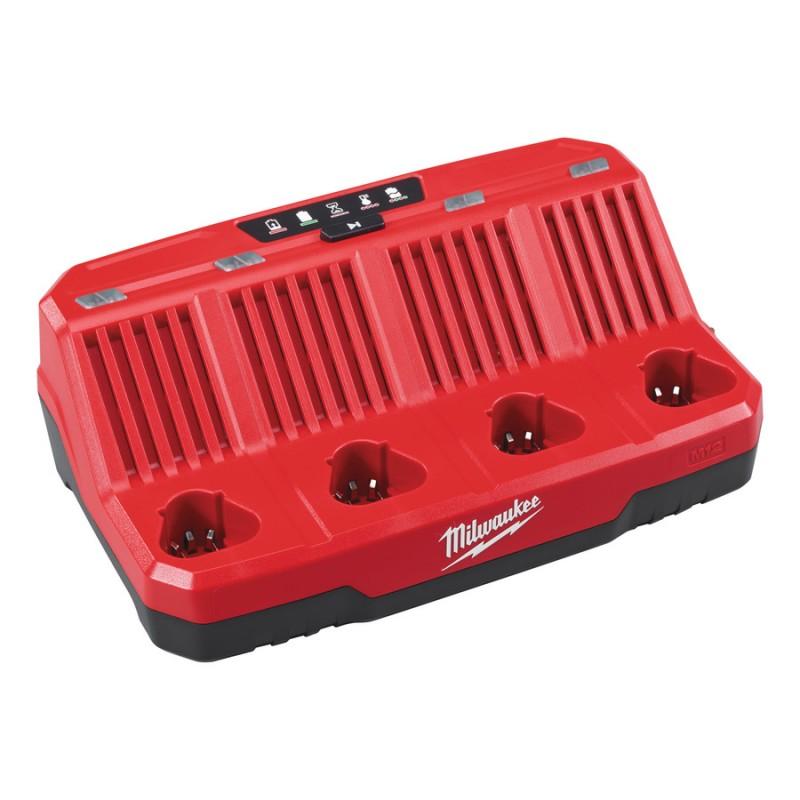 Зарядное устройство MILWAUKEE M12 C4 4932430554