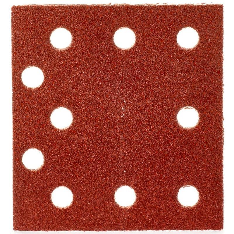 Шлифовальная бумага MILWAUKEE 115 х 107 мм, зерно 60 10 шт 4932430815