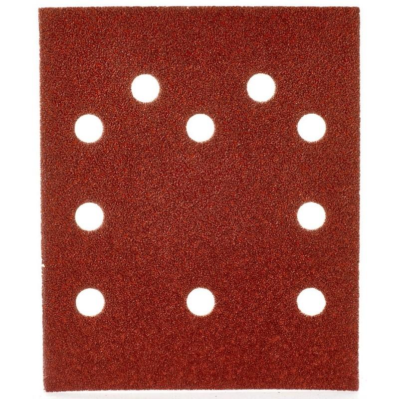 Шлифовальная бумага MILWAUKEE 115 х 140 мм, зерно 60 10 шт 4932430819