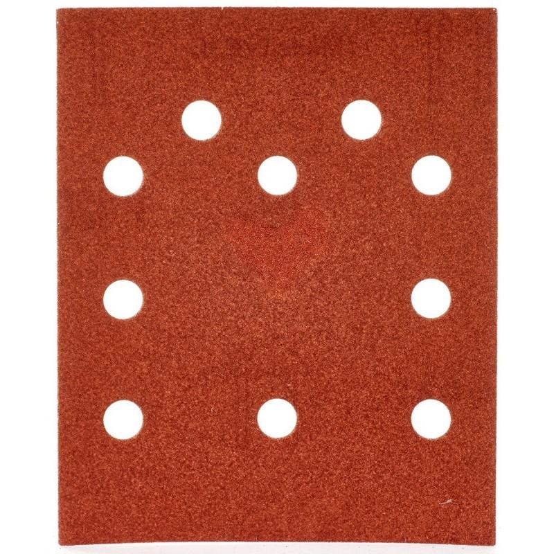 Шлифовальная бумага MILWAUKEE 115 х 140 мм, зерно 120 10 шт 4932430822