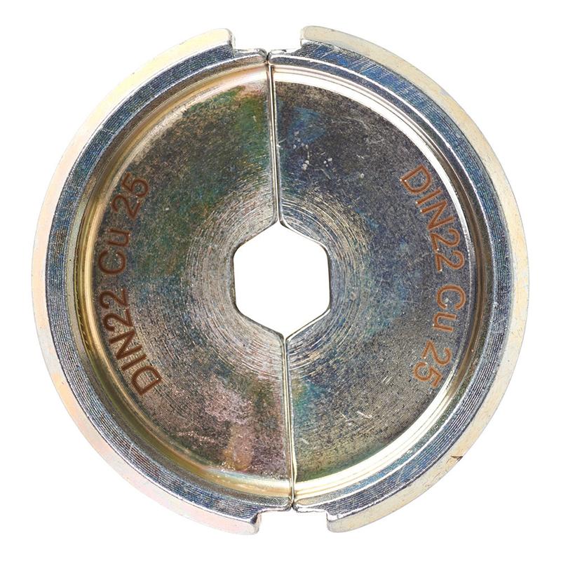 Матрица для обжимного инструмента MILWAUKEE DIN22 Cu 25 4932451745