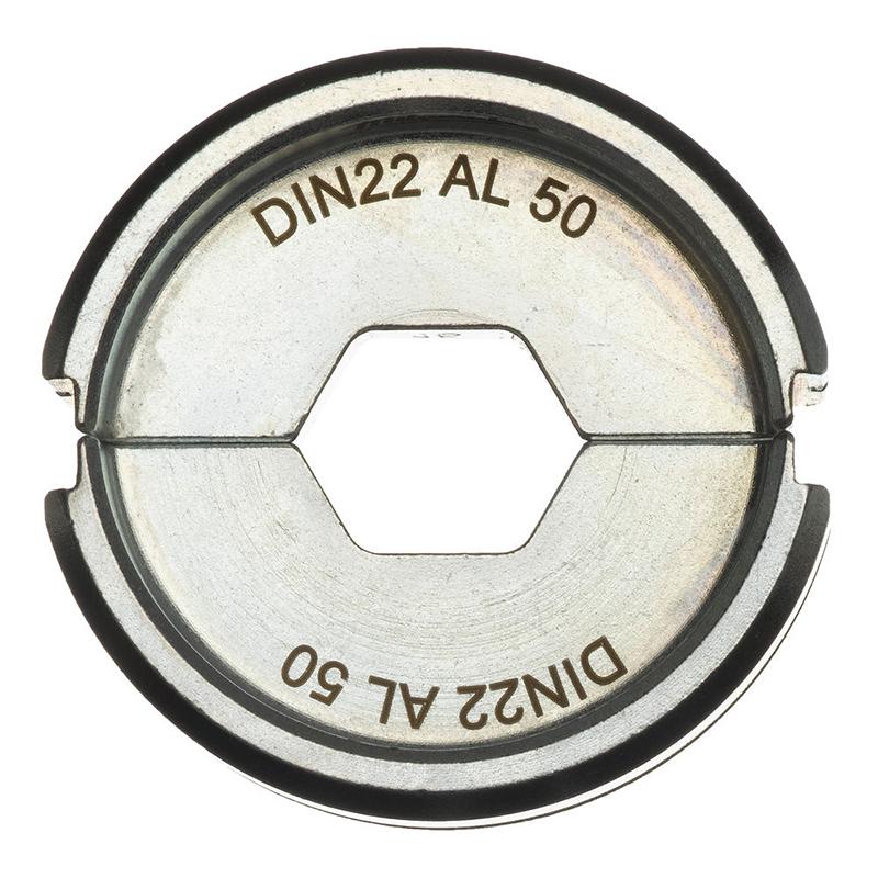 Матрица для обжимного инструмента MILWAUKEE DIN22 AL 50 4932451773