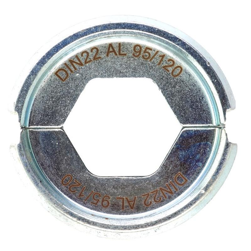Матрица для обжимного инструмента MILWAUKEE DIN22 AL 95/120 4932451775