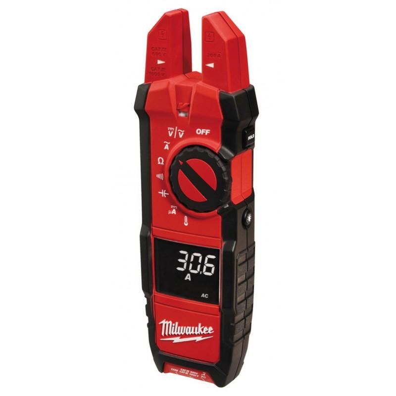 Вилочные токовые клещи MILWAUKEE 2206-40 для работ по вентиляции и кондиционированию 4933416973