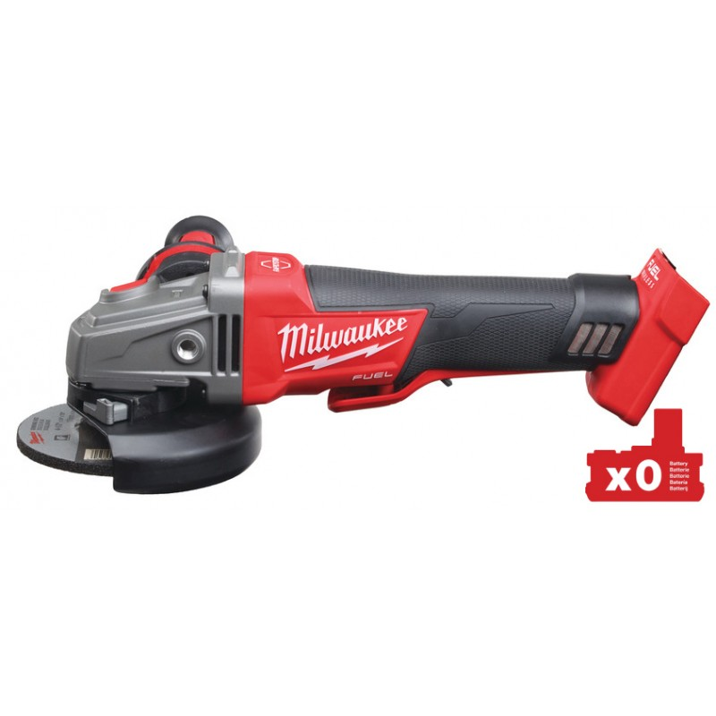 Углошлифовальная машина MILWAUKEE 125 мм M18 FUEL CAG125XPDB-0 4933451009