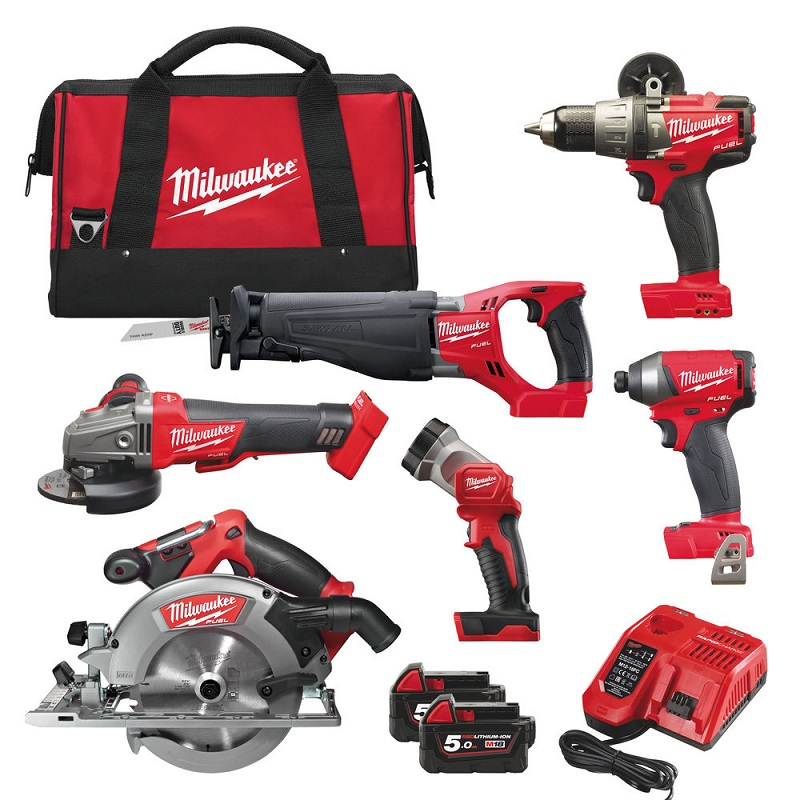 Набор MILWAUKEE M18 FUEL FPP6A-502B 4933451243