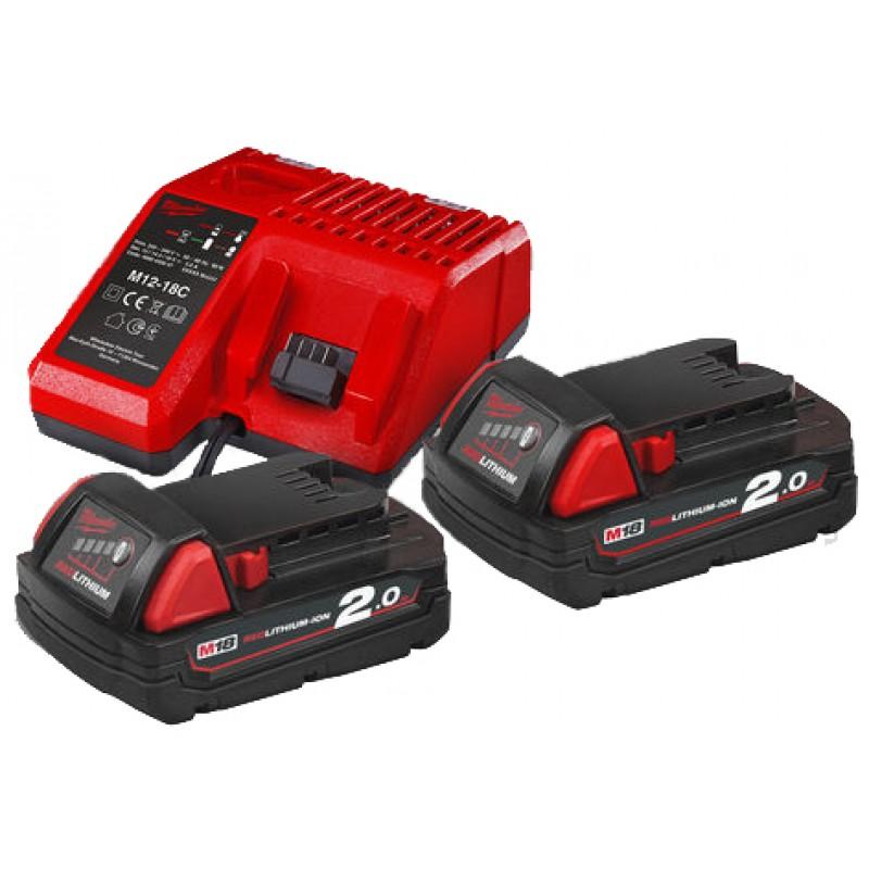 Комплект аккумулятор и зарядное устройство MILWAUKEE M18 NRG-202 4933459213