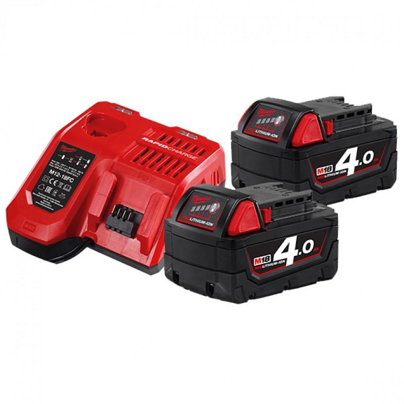 Комплект аккумулятор и зарядное устройство MILWAUKEE M18 NRG-402 4933459215
