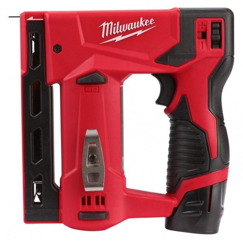 Аккумуляторный степлер MILWAUKEE M12 BST-202X 4933459635
