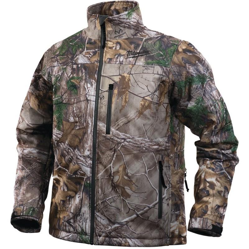 Куртка с электроподогревом MILWAUKEE M12 HJ CAMO4-0 (S) камуфляж 4933451596
