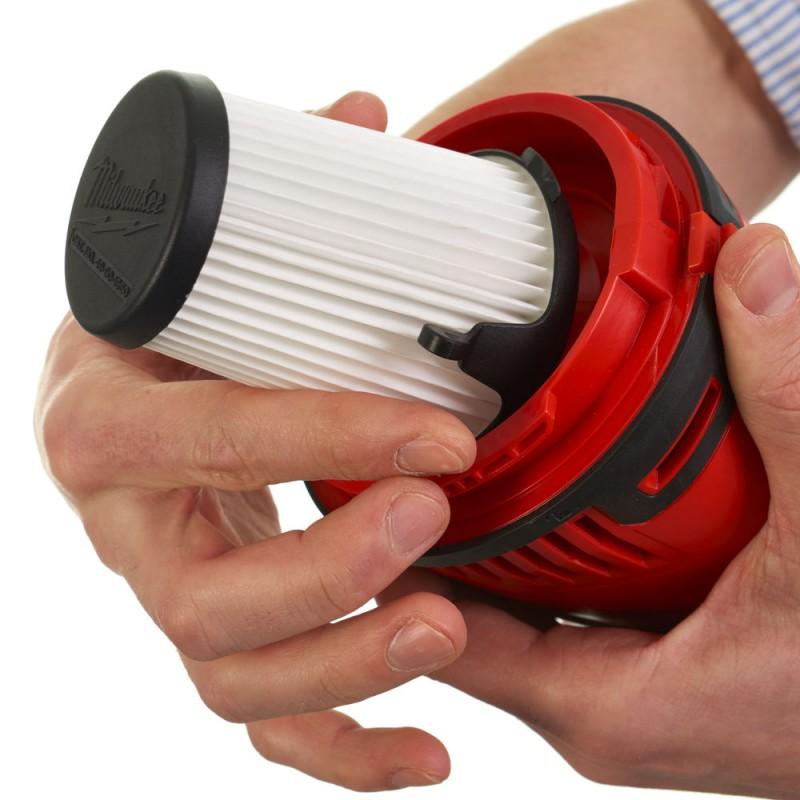 Аккумуляторный пылесос MILWAUKEE M12 HV-0 4933448390