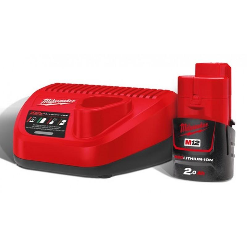 Комплект аккумулятор и зарядное устройство MILWAUKEE M12 NRG-201 4933451900