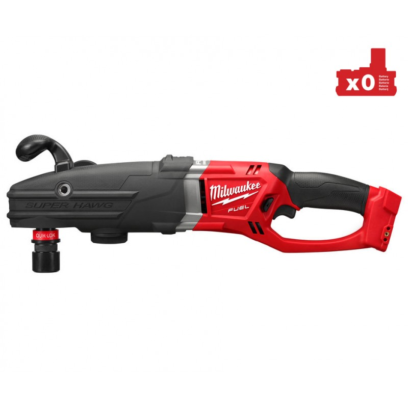 Угловая дрель MILWAUKEE M18 FUEL™ SUPER HAWG® с патроном QUIK-LOK™ M18 FRADH-0 4933451290