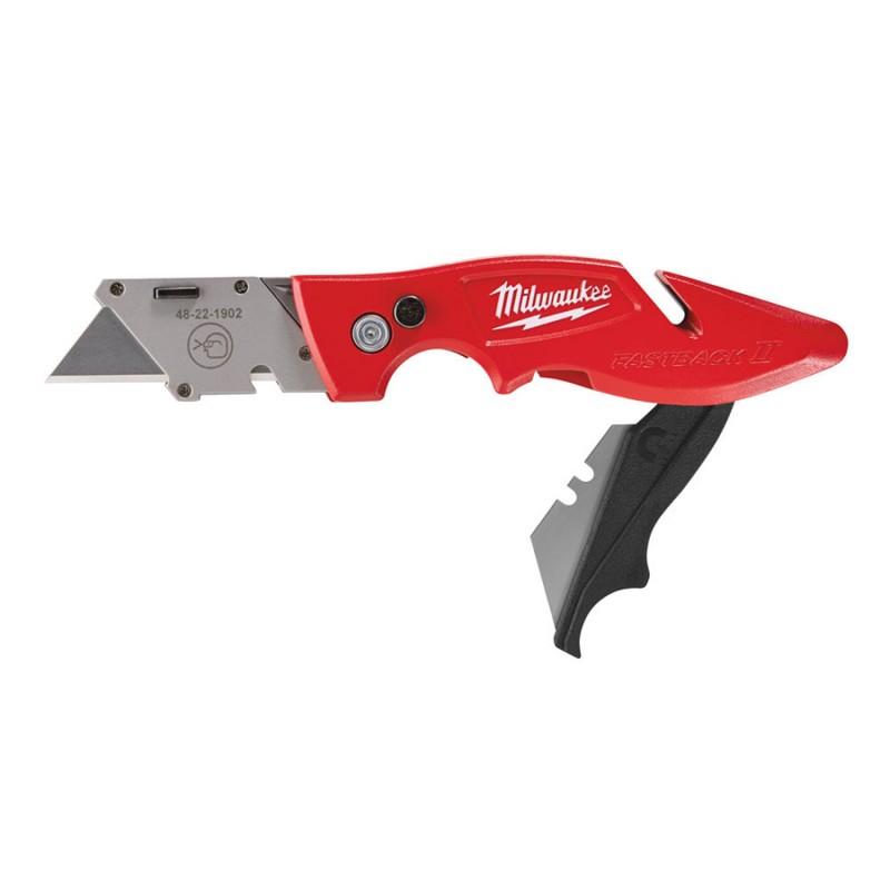 Нож MILWAUKEE выдвижной многофункциональный с хранением лезвия 48221902