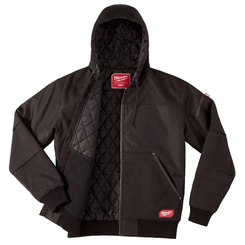 Куртка с капюшоном MILWAUKEE WGJHBL (XL) черная 4933459438