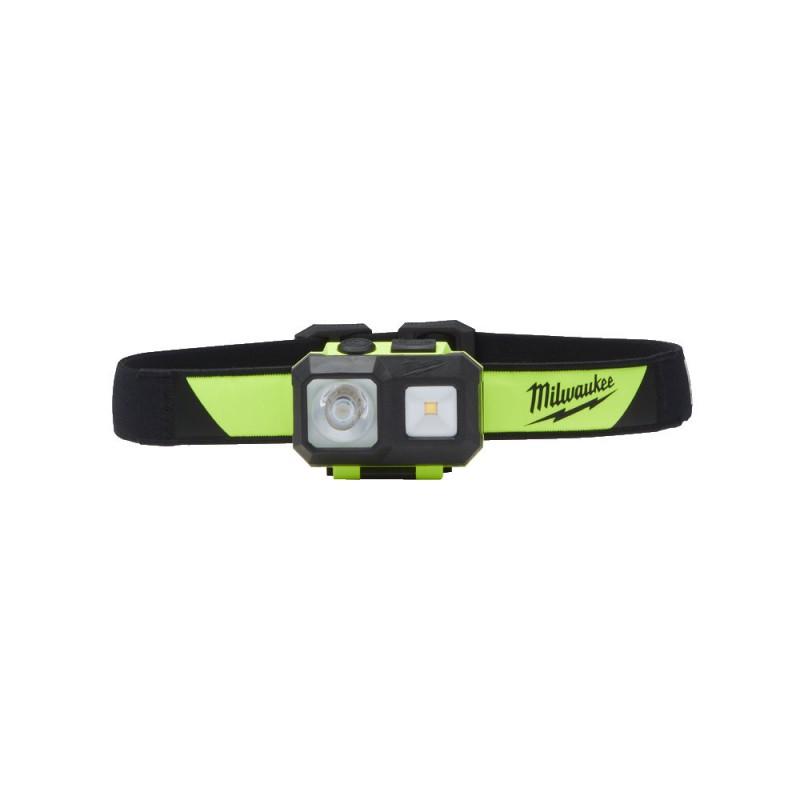 Фонарь налобный безопасный светодиодный MILWAUKEE  ISHI-0  4933478112
