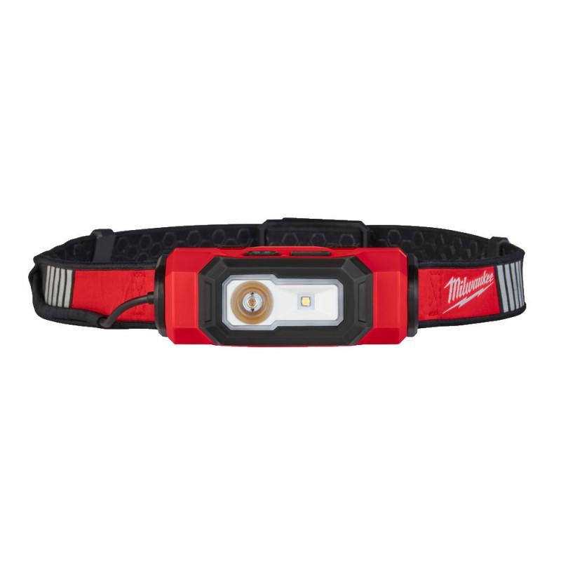 Налобный фонарь налобный заряжаемый через USB MILWAUKEE L4 HL-VIS 4933471389