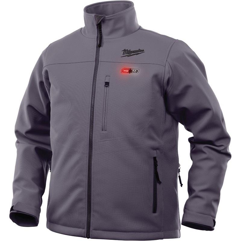 Куртка с электроподогревом MILWAUKEE M12 HJ GREY3-0 (S) серая 4933451591