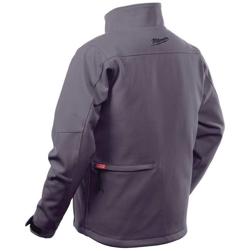 Куртка с электроподогревом MILWAUKEE M12 HJ GREY3-0 (XL) серая 4933451594