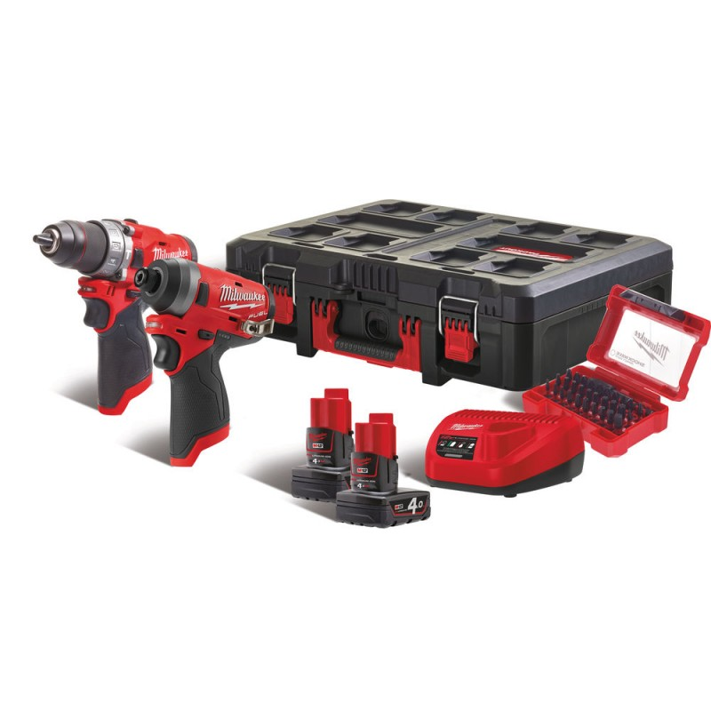 Набор MILWAUKEE M12 FUEL FPP2A-402P 4933471144