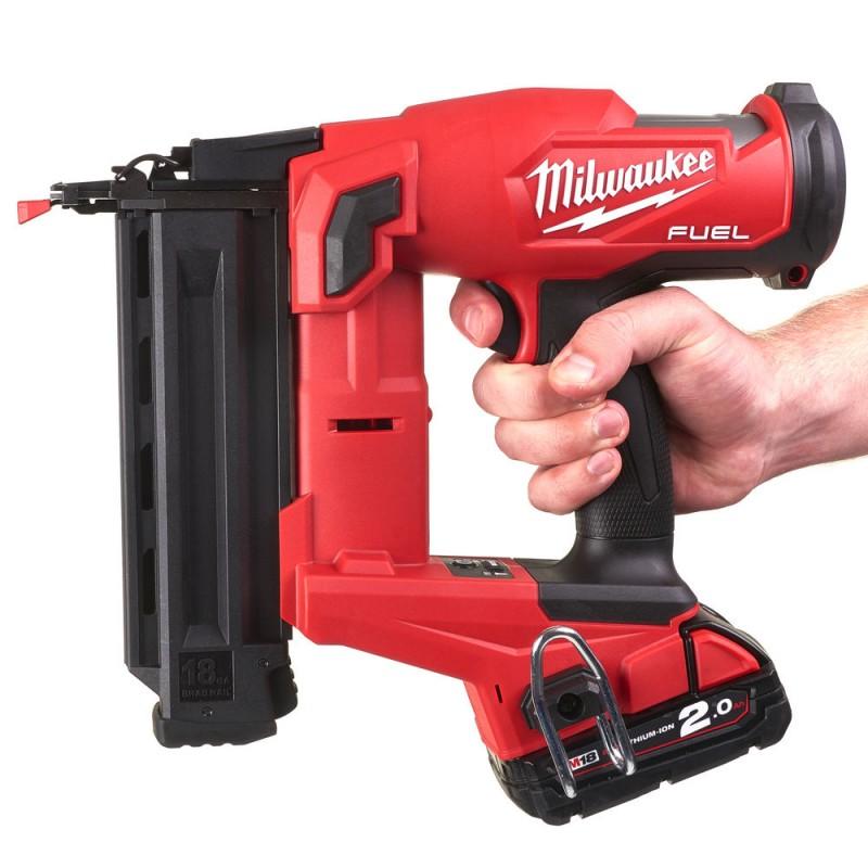 Гвоздезабиватель с прямым магазином MILWAUKEE M18 FUEL FN18GS-202X 4933471407