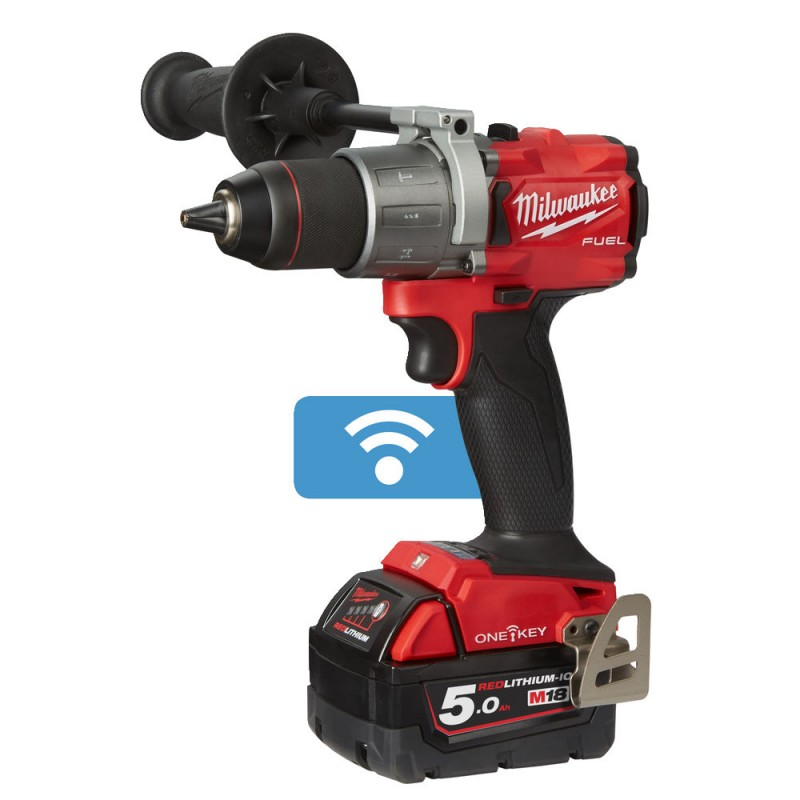 Дрель ударная MILWAUKEE M18 FUEL ONEPD2-502X ONE-KEY 4933464527