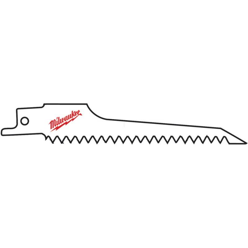 Полотно для резки гипсокартона MILWAUKEE 125ммх6мм 48005052