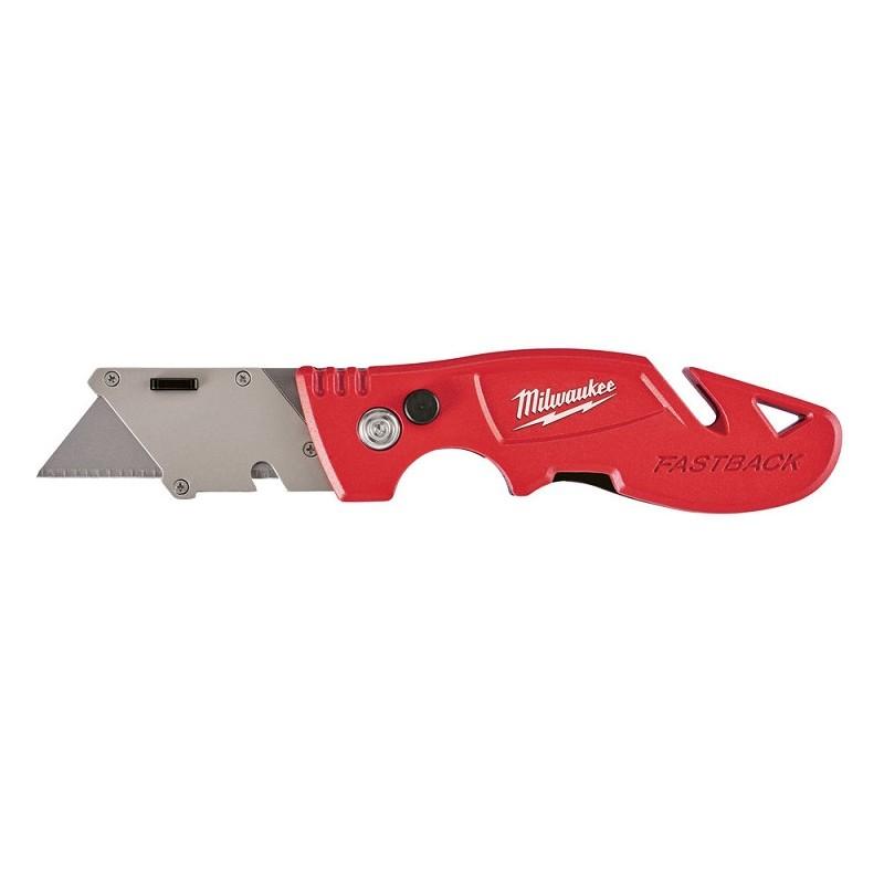 Нож MILWAUKEE Gen III выкидной многофункциональный с хранением лезвия 48221903