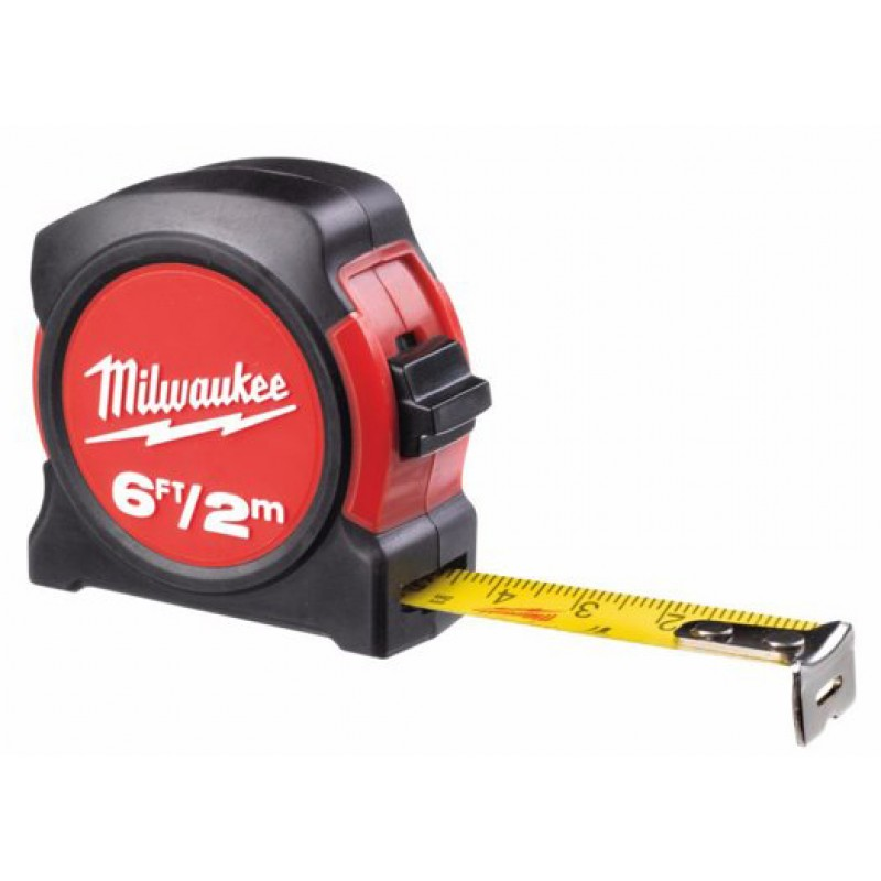 Рулетка MILWAUKEE не магнитная 2м 48225502