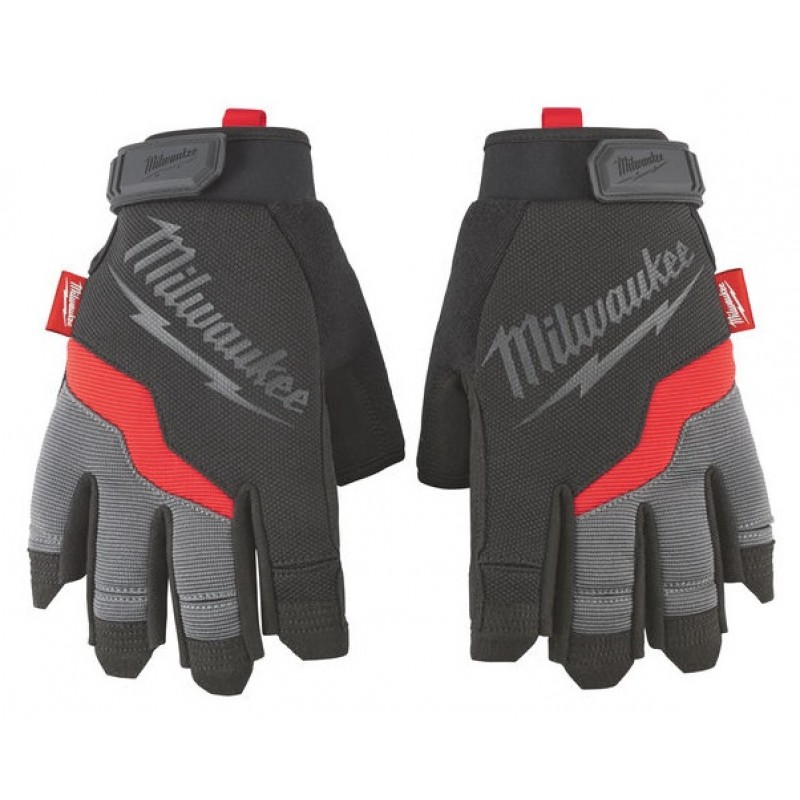 Перчатки беспалые MILWAUKEE 10/XL 48229743