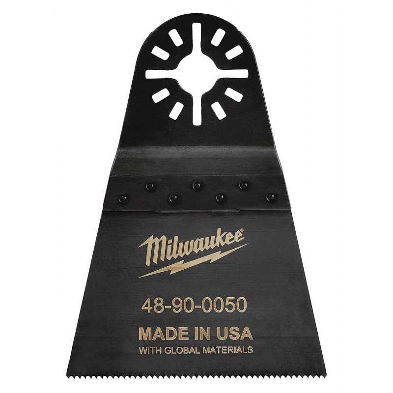 Полотно для мультитул 64мм для резки металла, дерева, пластика и фибергласса MILWAUKEE 48900050