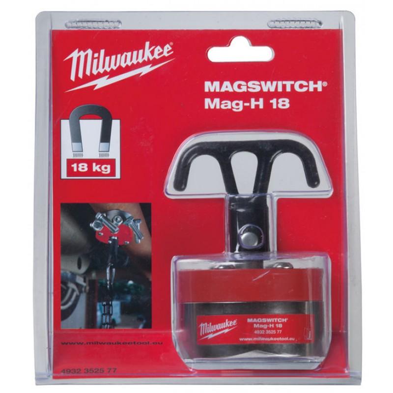 Магнит с крюком MILWAUKEE MAGSWITCH Mag H-18 4932352577