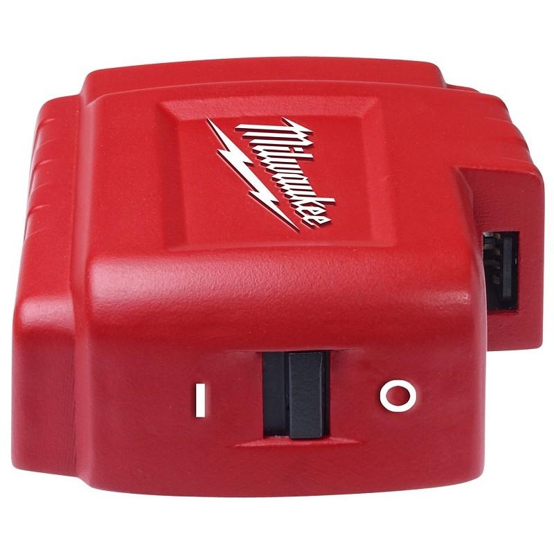 Зарядное устройство-адаптер для курток с подогревом MILWAUKEE M18 USB PS HJ 4932430084