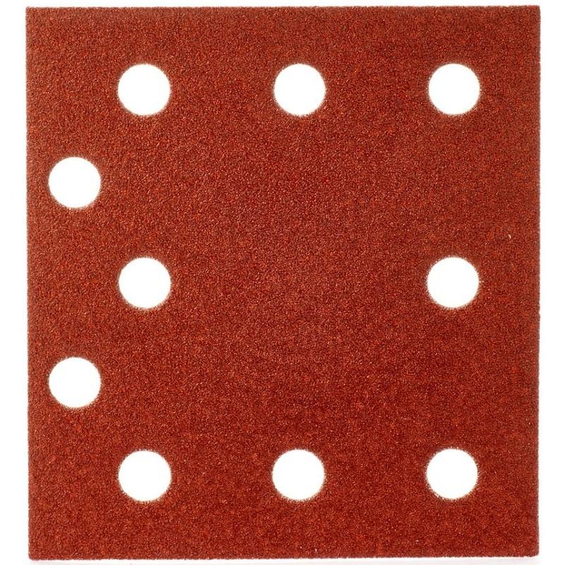 Шлифовальная бумага MILWAUKEE 115 х 107 мм, зерно 80 10 шт 4932430816