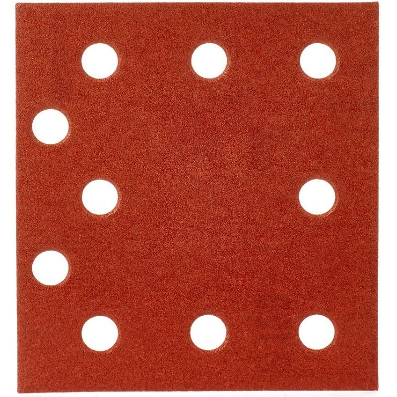 Шлифовальная бумага MILWAUKEE 115 х 107 мм, зерно 120 10 шт 4932430817
