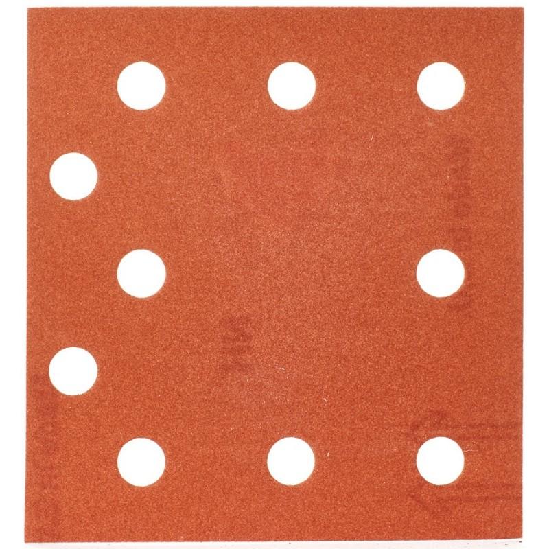 Шлифовальная бумага MILWAUKEE 115 х 107 мм, зерно 240 10 шт 4932430818
