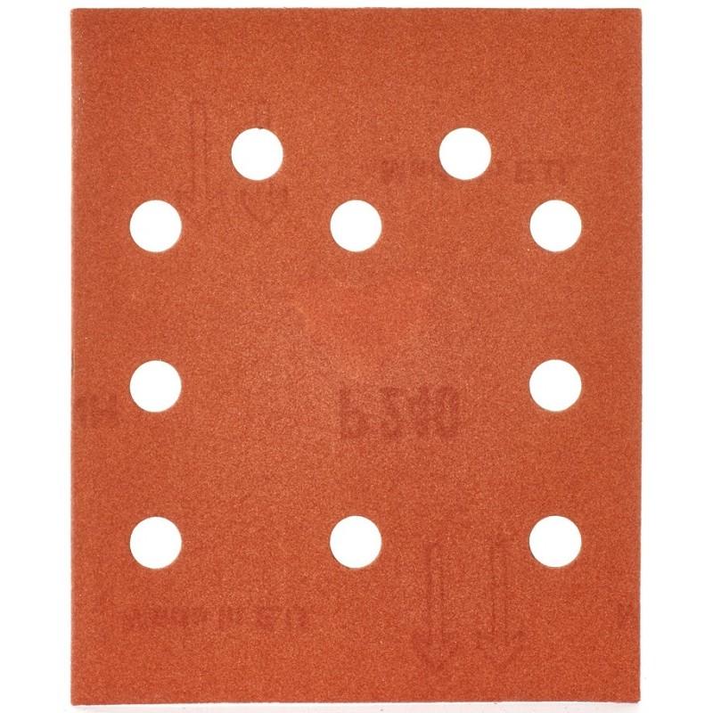 Шлифовальная бумага MILWAUKEE 115 х 140 мм, зерно 240 10 шт 4932430821