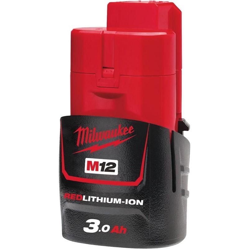 Аккумулятор MILWAUKEE M12 B3 3 Ач 4932451388