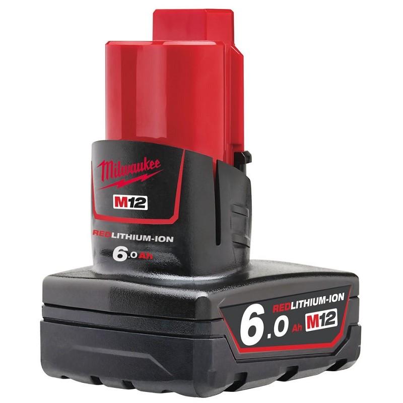 Аккумулятор MILWAUKEE M12 B6 6 Ач 4932451395