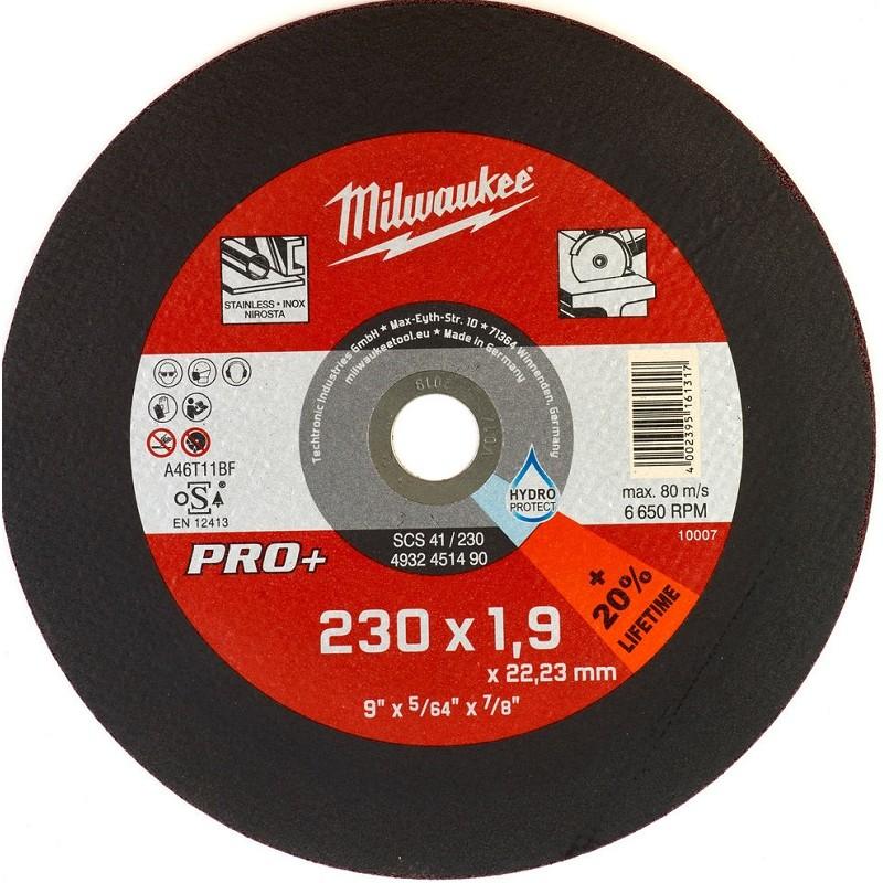 Отрезной круг по металлу 230х1,9 ММ SCS41 25 шт MILWAUKEE 4932451490