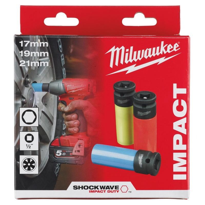 Набор головок MILWAUKEE ShW Automotive 1/2