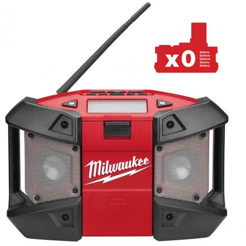 Радио с возможностью подключения MP3 плееров MILWAUKEE M12 C12 JSR-0 4933416365