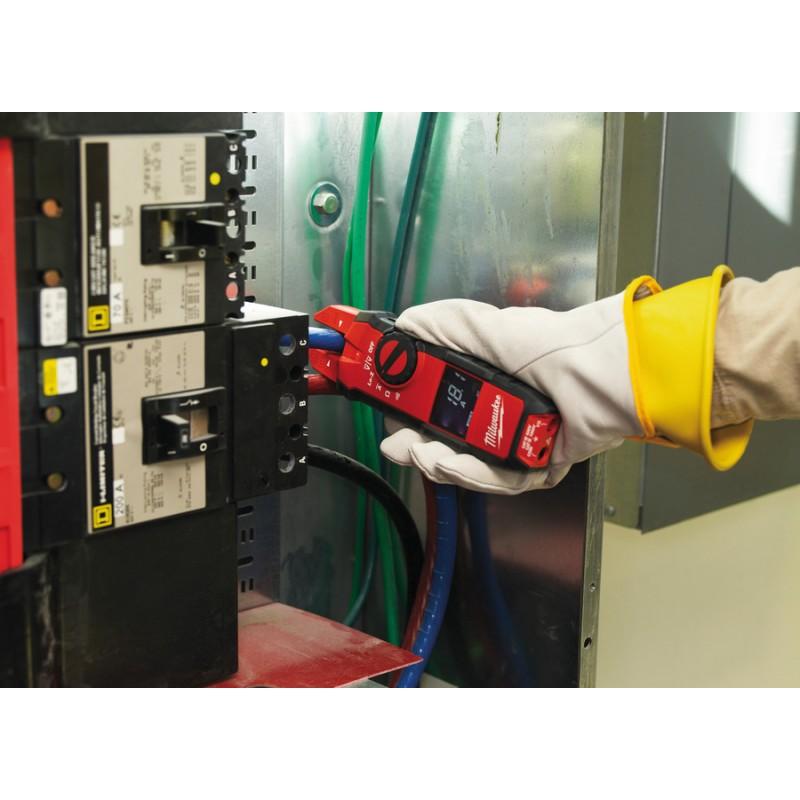 Вилочные токовые клещи MILWAUKEE 2205-40 для электриков 4933416972